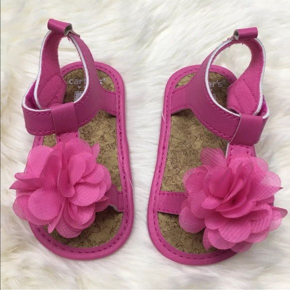 d0372b95effa Carter s Other - Carter s Pink Baby Girl Sandals